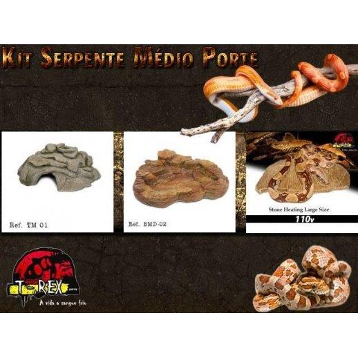 Kit Serpentes M | Répteis | Terrário | Exoterra